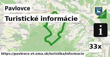 turistické informácie v Pavlovce, okres VT