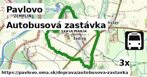 ilustračný obrázok k Autobusová zastávka, Pavlovo