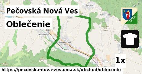 oblečenie v Pečovská Nová Ves
