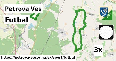 ilustračný obrázok k Futbal, Petrova Ves