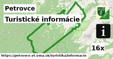 ilustračný obrázok k Turistické informácie, Petrovce, okres VT
