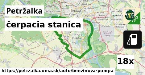 čerpacia stanica v Petržalka