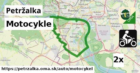 motocykle v Petržalka
