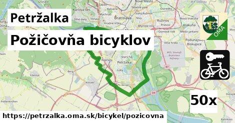 Požičovňa bicyklov, Petržalka
