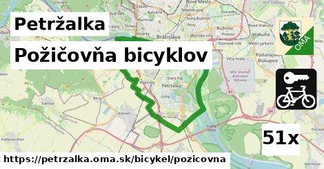 požičovňa bicyklov v Petržalka