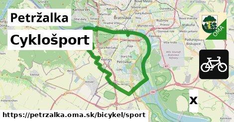 cyklošport v Petržalka