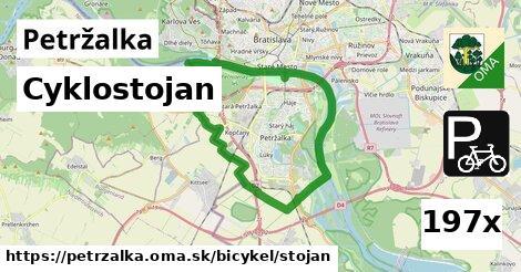cyklostojan v Petržalka