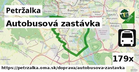 autobusová zastávka v Petržalka