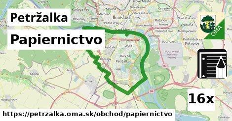 Papiernictvo, Petržalka