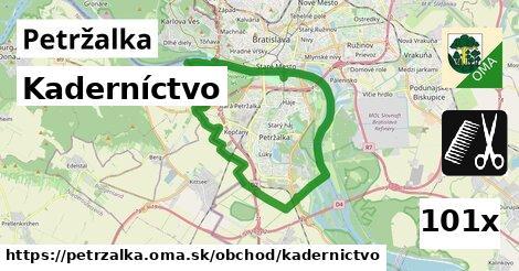 ilustračný obrázok k Kaderníctvo, Petržalka