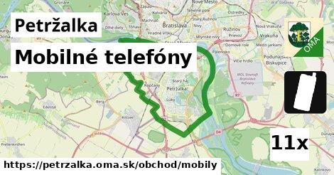mobilné telefóny v Petržalka