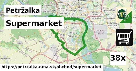 supermarket v Petržalka