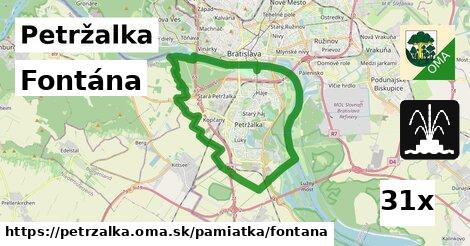 Fontána, Petržalka