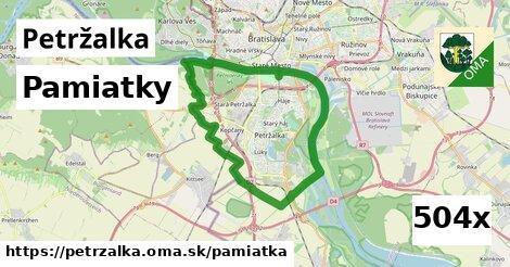 pamiatky v Petržalka