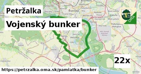 vojenský bunker v Petržalka