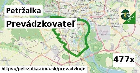 prevádzkovateľ v Petržalka
