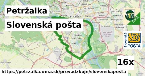 Slovenská pošta v Petržalka
