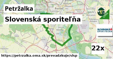 Slovenská sporiteľňa v Petržalka