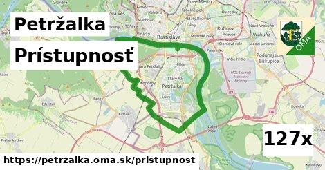prístupnosť v Petržalka