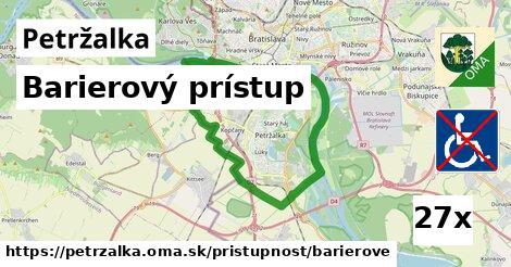 barierový prístup v Petržalka