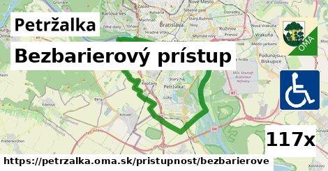 bezbarierový prístup v Petržalka