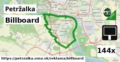 billboard v Petržalka