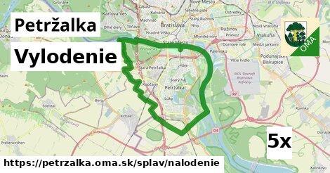 vylodenie v Petržalka