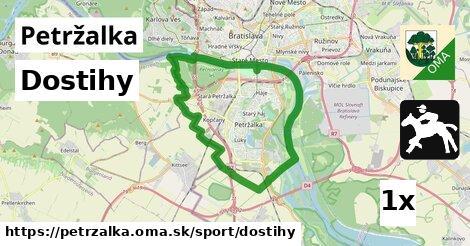 Dostihy, Petržalka