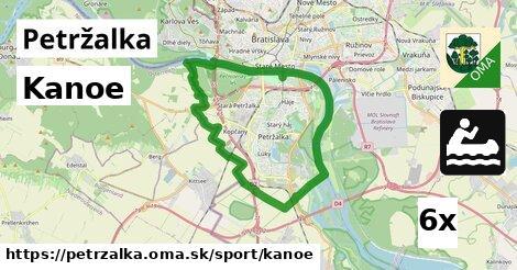 Kanoe, Petržalka