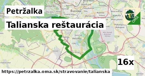 Talianska reštaurácia, Petržalka