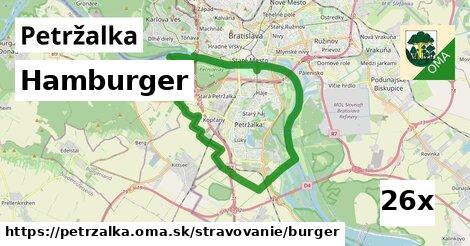 ilustračný obrázok k Hamburger, Petržalka
