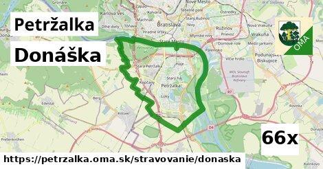 donáška v Petržalka