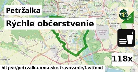 rýchle občerstvenie v Petržalka