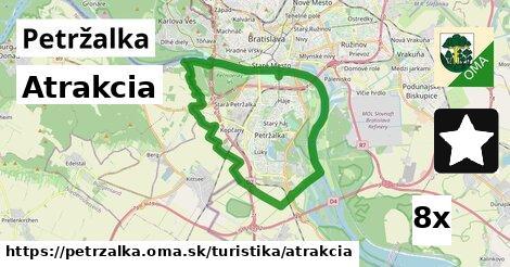 atrakcia v Petržalka