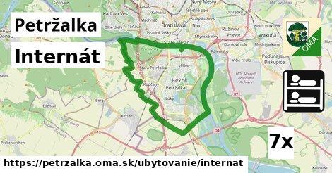 Internát, Petržalka