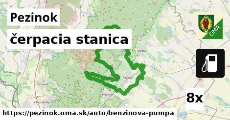 čerpacia stanica v Pezinok