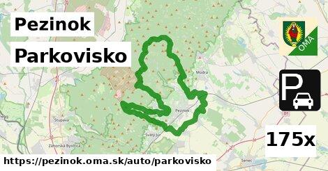 parkovisko v Pezinok