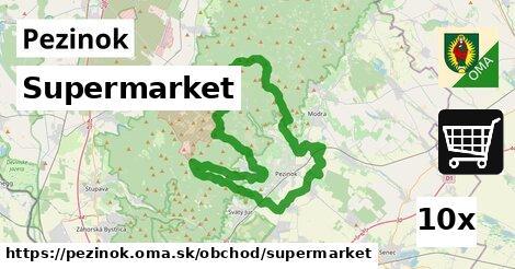 supermarket v Pezinok
