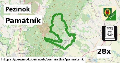 ilustračný obrázok k Pamätník, Pezinok
