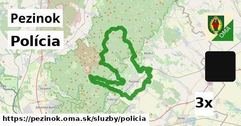 polícia v Pezinok