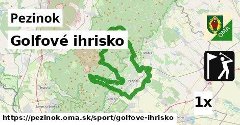 golfové ihrisko v Pezinok