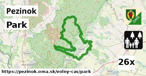 ilustračný obrázok k Park, Pezinok