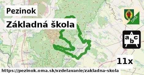 ilustračný obrázok k Základná škola, Pezinok