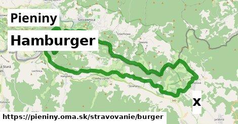ilustračný obrázok k Hamburger, Pieniny