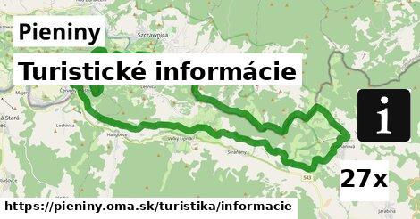 ilustračný obrázok k Turistické informácie, Pieniny
