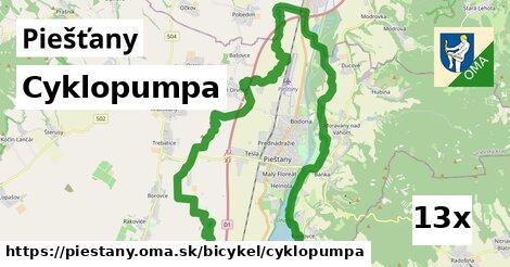 Cyklopumpa, Piešťany