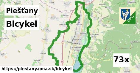 bicykel v Piešťany