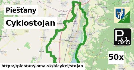 cyklostojan v Piešťany