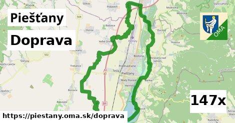 doprava v Piešťany