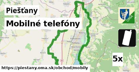 mobilné telefóny v Piešťany
